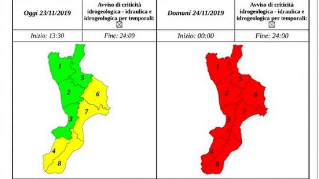 allerta rossa, maltempo, meteo calabria, Calabria, Meteo