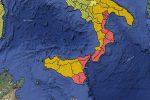 Maltempo, allerta meteo rossa in Calabria e in Sicilia: scuole chiuse in molte città