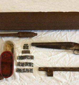 Armi e munizioni nei sacchi dei rifiuti, scatta il sequestro a Pellaro