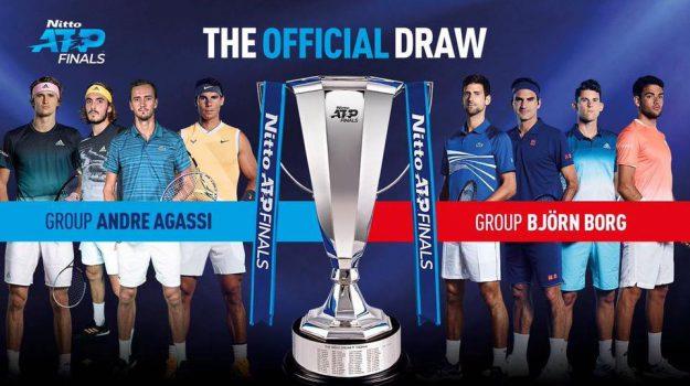 Atp Finals, tennis, Matteo Berrettini, Novak Djokovic, Rafael Nadal, Roger Federer, Sicilia, Sport