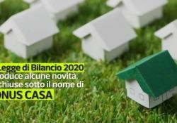 Bonus Casa: tutte le agevolazioni fiscali per ristrutturazioni e lavori La Legge di Bilancio 2020 introduce alcune novità, tra cui l'allettante «bonus facciate» con un recupero fiscale addirittura del 90% - Corriere Tv