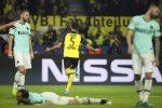 Champions League, Inter bella a metà: il Borussia rimonta e vince 3-2