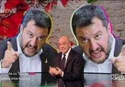 Crozza: «Salvini si è paragonato a Segre? Lei ricordata per essere sopravvissuta ad Auschwitz, lui non è sopravvissuto al Papeete...» Il monologo del comico dedicato ai diversi attacchi razzisti accaduti recentemente nel nostro Paese: «Lei scappava dalle SS, tu le corteggi, che nesso c'è?» - C...