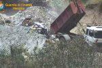 Messina, discarica di un ettaro a Gravitelli: bomba ecologica fra l'autostrada e un torrente