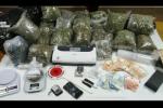 Maxi sequestro di marijuana e cocaina a San Giovannello, arrestato un 24enne