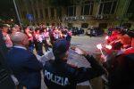Aggressioni alle Forze Armate, a Messina una fiaccolata in memoria degli agenti morti a Trieste - Foto