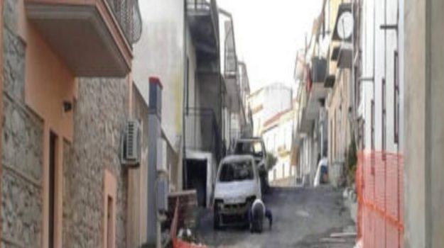 auto incendiata, villapiana, Michele Grande, Cosenza, Calabria, Cronaca