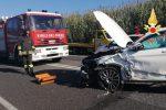 Incidente stradale a Lamezia, scontro tra due auto: disagi alla viabilità