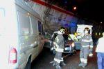 Tamponamento in tangenziale a Messina, 4 auto coinvolte: diversi feriti