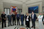 Messina celebra l'Influday, sindaco e istituzioni all'Asp per il vaccino - Foto