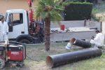 Lavori nella condotta idrica a Santa Maria di Catanzaro, disagi nell'erogazione dell'acqua