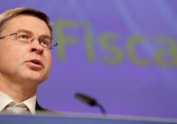Manovra, Dombrovskis: «Italia a rischio di non conformità» La Commissione europea tornerà a valutare i conti pubblici nella primavera 2020 - Ansa