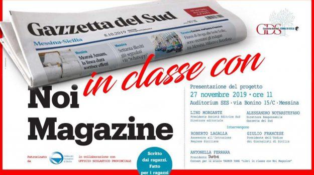 noi magazine, scuola, Alessandro Notarstefano, Giulio Francese, Lino Morgante, roberto lagalla, Sicilia, Noi Magazine