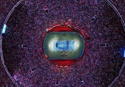 Nuovo record per un match di tennis: oltre 42.500 spettatori ad ammirare Federer A Città del Messico una folla incredibile ha assistito alla partita di esibizione tra Federer e Zverev - CorriereTV
