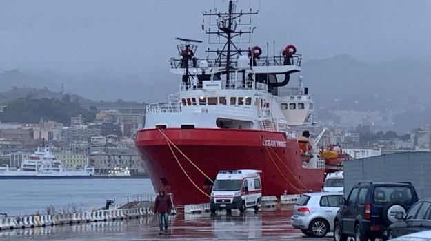 migranti, Ocean Viking, Messina, Sicilia, Cronaca