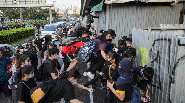proteste Hong Kong, Sicilia, Mondo