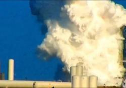 Qui esplode il super razzo di Elon Musk L'incidente in Texas durante un test del razzo Starship Mk1 di Spacex - CorriereTV