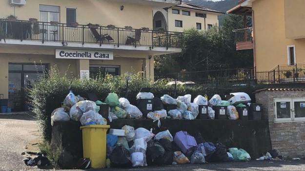 marano principato, rifiuti, Cosenza, Calabria, Cronaca