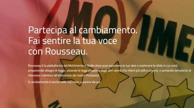 movimento 5 stelle, regionali, rousseau, Luigi Di Maio, Calabria, Politica