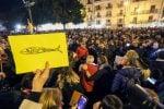 La manifestazione delle sardine a Palermo