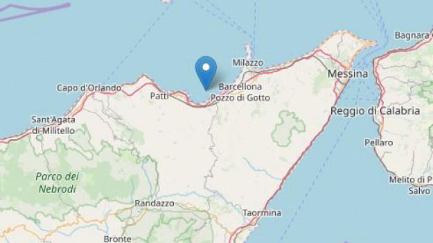 ingv, terremoto, Messina, Sicilia, Cronaca