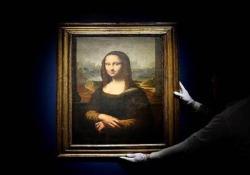 Trova le differenze: battuta all'asta per 552.000 euro la copia della Gioconda Si tratta di una delle migliori copie della Gioconda, di cui l'autore è sconosciuto - CorriereTV