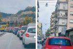 """Caos viabilità a Cosenza, automobilisti prigionieri nel viale dei """"cantieri"""""""