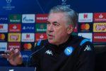 """Napoli all'esame Genk, Ancelotti in bilico: """"La mia valigia è sempre pronta"""""""
