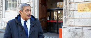 L'ex governatore della Valle d'Aosta, Antonio Fosson