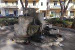 Rubato a Siderno il cervo di bronzo, della scultura è rimasta solo una zampa