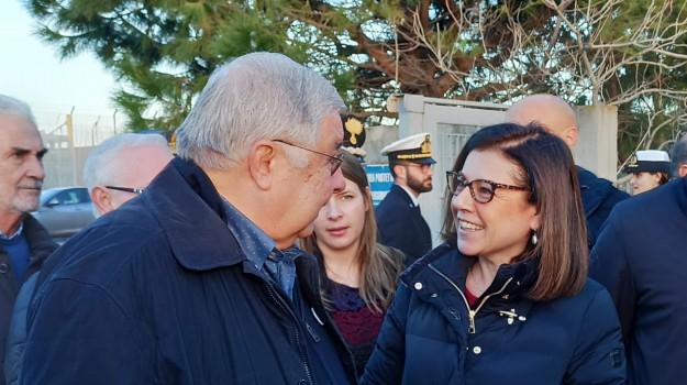 Paola De Micheli, pippo callipo, Calabria, Politica
