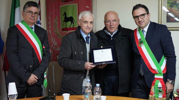 tarsia, Cristian Barone, Franco Corbelli, Franco Raimondo, Marco Cetraro, Mario Oliverio, Roberto Ameruso, Cosenza, Calabria, Politica