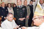 Messina, un maresciallo con vocazione religiosa: Daniele Gatto diventa accolito