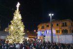 """Messina, in 20 mila in piazza Cairoli per la Festa dell'accensione tra luci e """"neve"""""""