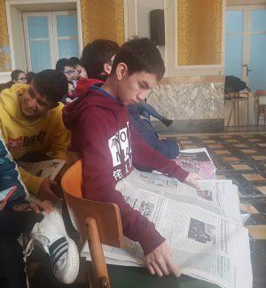 Gazzetta del Sud in classe, incontro con gli studenti del Sant'Ignazio a Messina