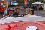 """""""Grease"""", 41 anni dopo: John Travolta e Olivia Newton John con gli abiti del film"""