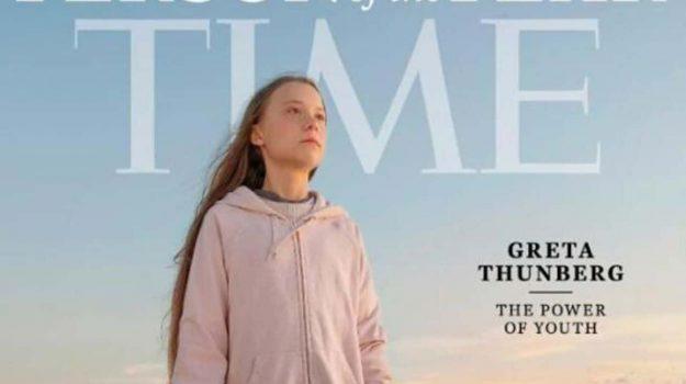 Greta Thunberg, Sicilia, Mondo