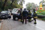 Scontro frontale tra due auto tra Lamezia e Platania, tre feriti
