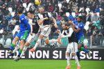 Serie A, il Sassuolo frena la Juventus: 2-2 allo Stadium