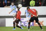 Lazio battuta dal Rennes per 2-0: è fuori dall'Europa League