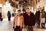 """Marco Carta, sui social prima foto insieme al fidanzato Sirio: """"Scelgo mille volte te"""""""