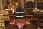 Patrona dei vigili del fuoco, a Messina si omaggia Santa Barbara: le foto della messa