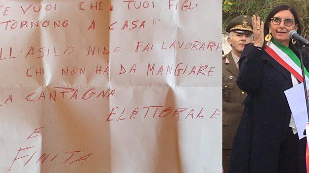 intimidazione, lattarico, minacce, Antonella Blandi, Cosenza, Calabria, Cronaca