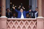 Argentina, Maradona ricevuto alla Casa Rosada dal presidente Fernandez
