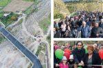 Reggio, inaugurato il ponte sul torrente Valanidi: Paterriti si è svegliata dal sogno