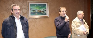 Roberto, Mario Occhiuto e Giuseppe Nisticò