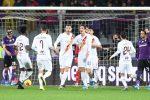 Goleada Roma alla Fiorentina: 4-1 e Montella cola a picco