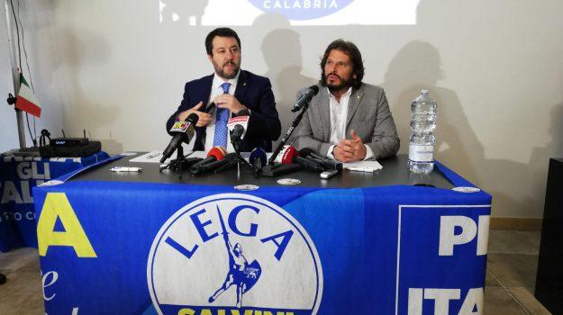 lega, sindaco reggio calabria, Giuseppe Falcomatà, Matteo Salvini, Reggio, Calabria, Politica