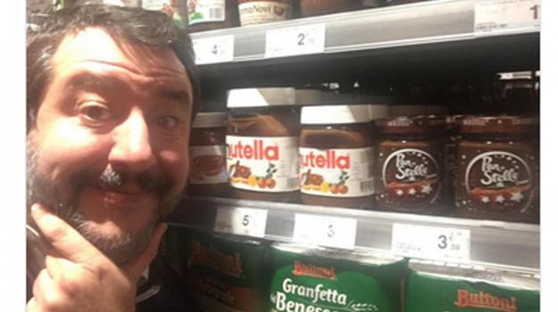 nutella, Matteo Salvini, Sicilia, Politica