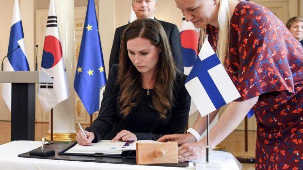 finlandia, premier, Sanna Marin, Sicilia, Mondo